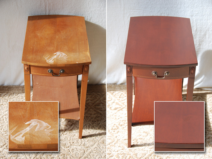 Wood Furniture Refinishing Services